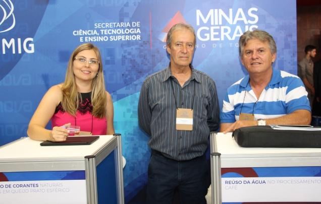 Pesquisadores da EPAMIG apresentaram inovações para produção de queijo e sistema sustentável para a cafeicultura. Crédito: Erasmo Reis