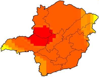 image002 - Previsão de ocorrência de anomalias positivas (acima da média) de chuvas para o estado de Minas Gerais