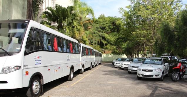 EPAMIG entrou novos veículos que passam a integrar a frota da Empresa. Foto: Erasmo Reis
