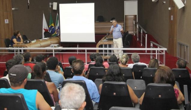 Vicente Gontijo palestrou sobre o sistema de produção em fluxo contínuo. Foto: Erasmo Pereira - EPAMIG