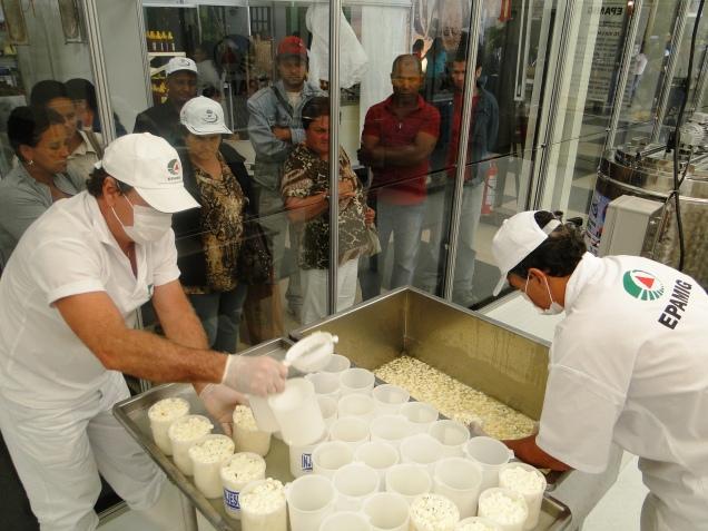 Na Via Láctea, público acompanha processo de dabricação de queijos e bebidas lácteas