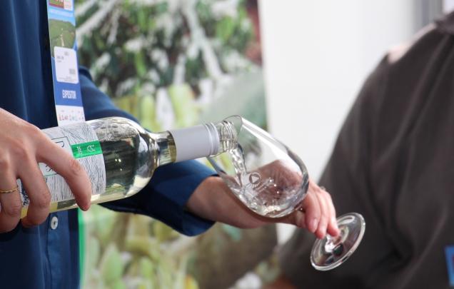 0923 - Degustações tecnológicas de vinho, azeite e café integram a programação da Inova Minas na Praça da Liberdade - Foto Erasmo Pereira