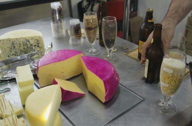 IMG_0170 - Harmonização de queijos e cervejas foi um dos destaques da Expolac 2016
