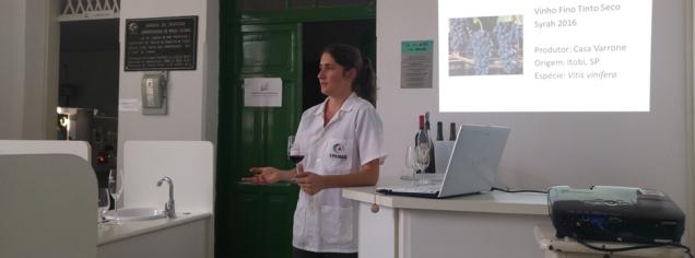 Os avanços da tecnologia para produção de vinhos aumentaram a demanda pela realização do curso em eventos de outras cidades