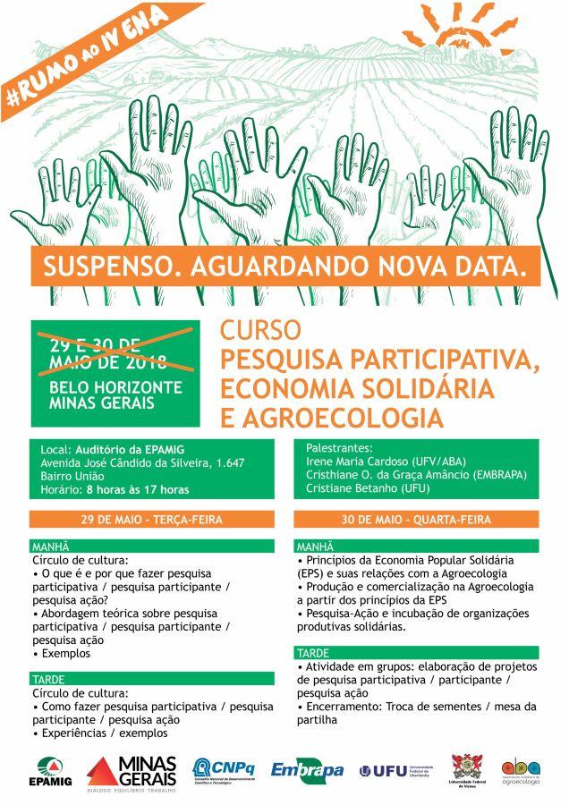 Curso - Pesquisa Participativa e Economia Solidária
