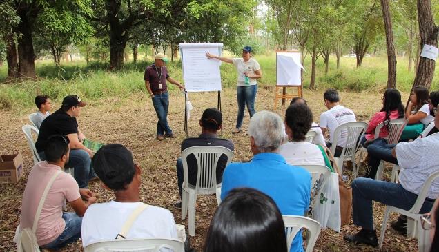 IMG_3180 Dia de Campo abordou alimentação animal