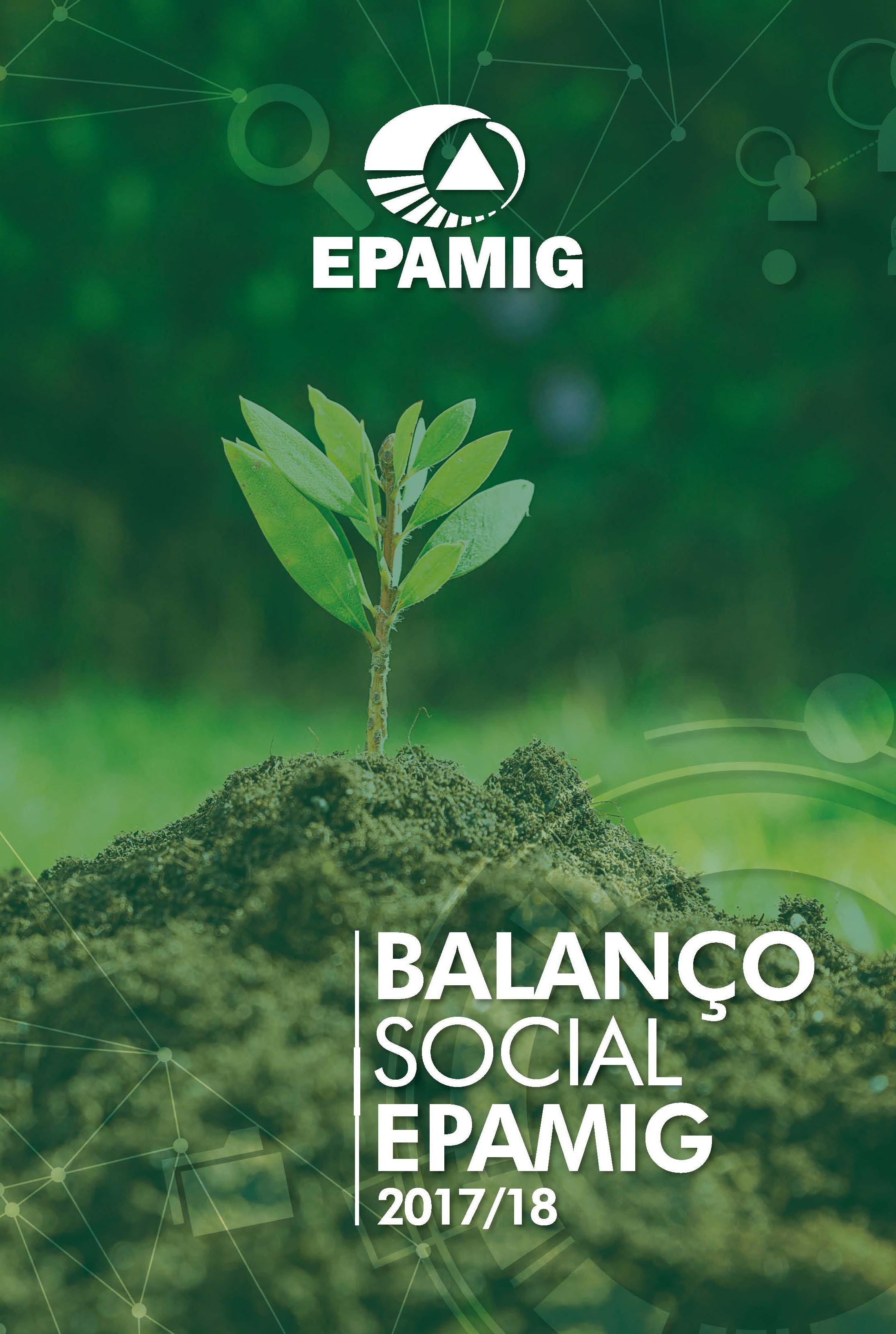 EPAMIG divulga Balanço Social 2017/2018