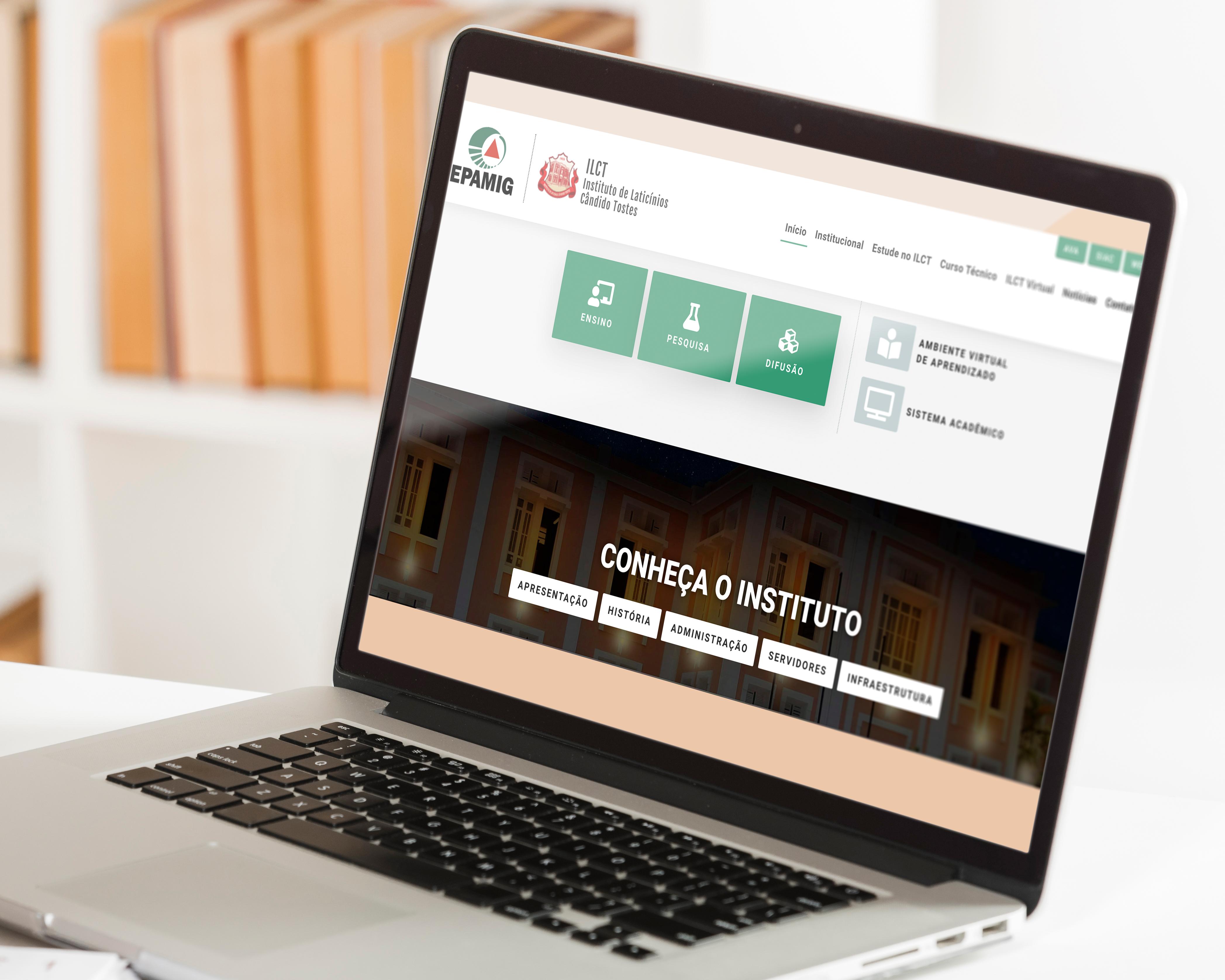 Novo site concentra informações sobre curso técnico, pesquisas e difusão de tecnologias da EPAMIG ILCT